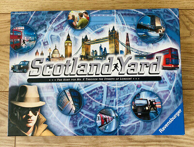 £9.99 • Buy Scotland Yard - The Hunt For Mr X - London Board Game Ravensburger COMPLETE VGC