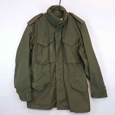 $98.95 • Buy Vtg 70s Alpha Ind Vietnam US Army Field Jacket M65 Cold Weather Small Long SL