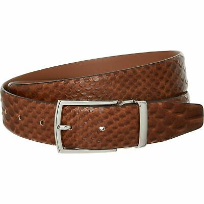 £39.99 • Buy ANDERSON'S Men's Genuine Leather Reptile Effect Belt, Tan Brown, Size W34