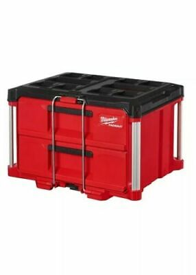 View Details Milwaukee PACKOUT™ 2 Drawer Tool Box With Dividers Brand New! • 148.99$