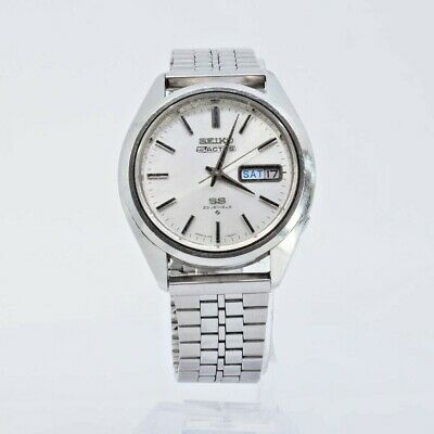 $ CDN163.01 • Buy Vintage SEIKO 5 ACTUS SS 6106-7480 AUTOMATIC MENS WATCH JAPAN STAINLESS STEEL
