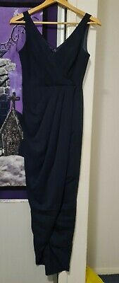 AU38.50 • Buy Forever New - Navy Victoria Wrap Dress Size 6