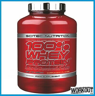 £45.95 • Buy SCITEC NUTRITION 100% Whey Protein Professional 2350g   78 SERVINGS