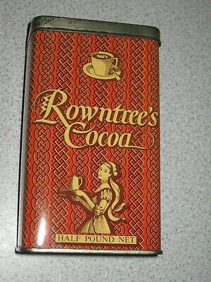 £24.99 • Buy Vintage Rowntree's Cocoa Tin, Half Pound. Immaculate For Its Age.