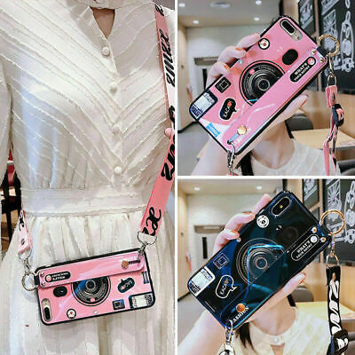 AU8.18 • Buy Camera Wristband Stand Crossbody Fashion Women Girl Case Cover For Various Phone