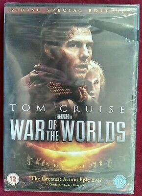 £6.99 • Buy War Of The Worlds - Tom Cruise - 2 Disc Special Edition - Region 2 DVD - New