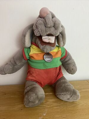 £19.99 • Buy Vintage Ganz Talking Wrinkles Dog Puppet With Clothing Battery Operated