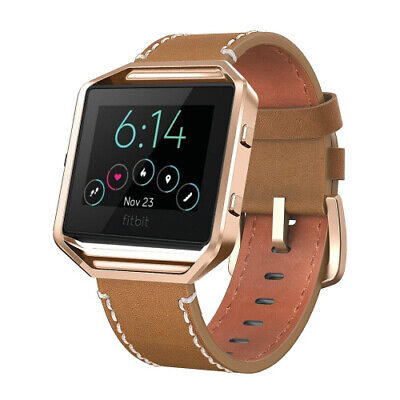 AU39.26 • Buy (Small:13cm  - 18cm , Brown) - Andyou For Fits Fits Fitbit Blaze Bands Leather