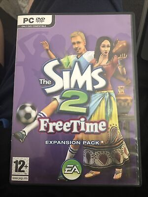 £5 • Buy The Sims 2 Free Time Expansion Pack For PC DVD Rom  Game Complete