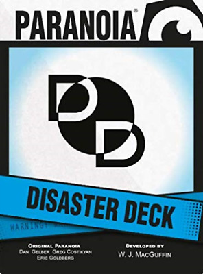£11.06 • Buy Paranoia Rpg: Disaster Deck (US IMPORT) ACC NEW