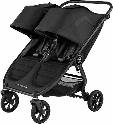 £519.95 • Buy *Brand New Baby Jogger City Mini GT 2 Double Pushchair Stroller Raincover Grey