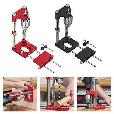 £16.99 • Buy Woodworking Punch Locator Drill Guide Adjustable Hole Drilling Template Tool