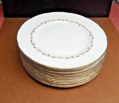 £10 • Buy Royal Worcester - Gold Chantilly, Dinner Plates