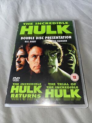£6.99 • Buy Incredible Hulk - The Incredible Hulk Returns - Trial Of 2-Movie Collection DVD