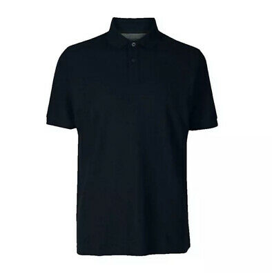 £8.99 • Buy Ex M&S Mens Slim Fit Polo Shirt Cotton Regular Fit Marks & Spencer T Shirt Top