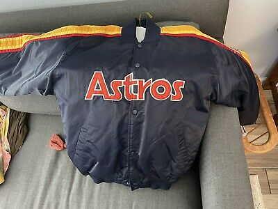 $99.99 • Buy Majestic Cooperstown Houston Astros Mens Jacket Size XL