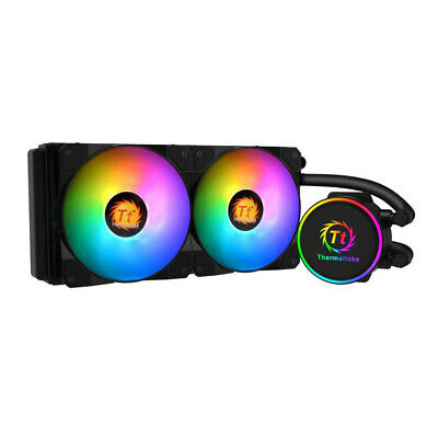 £64.99 • Buy 240mm AIO ThermalTake X240 All In One CPU Cooler RGB LED 240mm Water Cooler