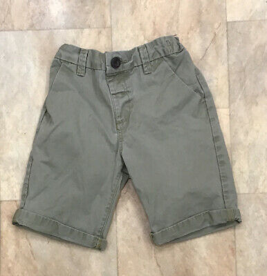 £5.50 • Buy Boys Next Light Coloured Cotton Chino Shorts Summer Clothes Age 5 - 6 Years