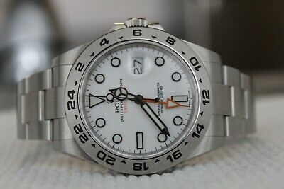 $ CDN16365.05 • Buy 2020 Rolex Explorer II 216570 Polar / White GMT 42mm W/ BOXES / PAPERS COMPLETE!
