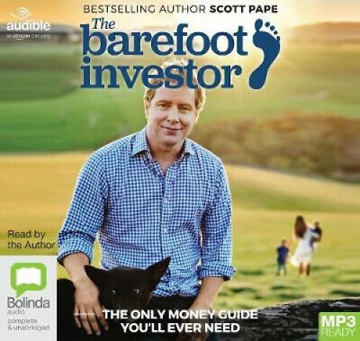 AU34.59 • Buy The Barefoot Investor: The Only Money Guide You'll Ever Need [Audio]