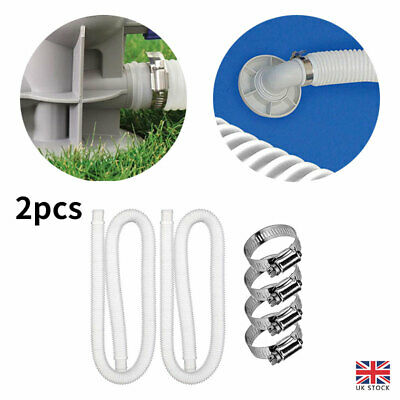 £8.51 • Buy 1.25  Intex Accessory Hose 32mm Pipe X 1.5m For Pump/Filter/Heater Swimming Pool