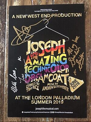 £17.50 • Buy Jason Donovan Autograph The Amazing Technicolour Dreamcoat - Signed A4 Mag Ad