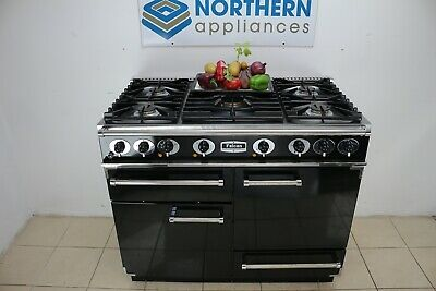 £1525 • Buy Falcon Range Cooker Dual Fuel Steam Cleaned In Good Order 12 Months Warranty 296