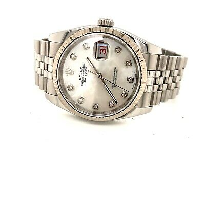 $ CDN11336.73 • Buy Rolex Datejust 116234 36mm, Box And Papers