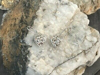 £89 • Buy Official Welsh Clogau Silver & Rose Gold Fairy Drop Earrings £50 OFF!