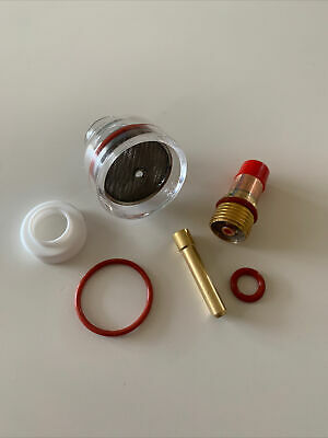 £17 • Buy TIG Welding Cup And Gas Lens Kit - Fits WP-17/18/26 For 2.4mm Tungsten