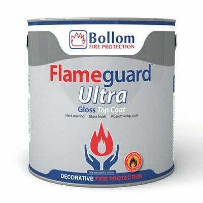 £39 • Buy Bolloms 2.5ltr Flame Retardent White Gloss - Tinted To White