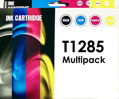 £7.95 • Buy Non OEM T1285 Multipack Ink Cartridges For Epson Stylus BX305F BX305FW Printers