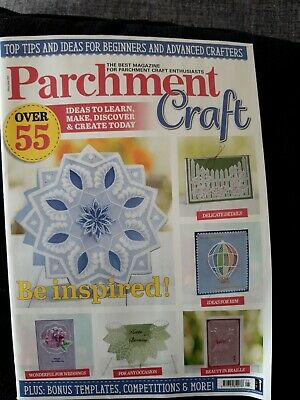 £3.50 • Buy Parchment Craft Magazine ~ Brand New  ~ May/June 21