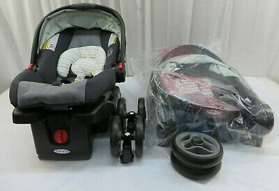 £81.78 • Buy Graco FastAction Fold Click Connect Travel System Bennet W/ Snugride 30 Car Seat