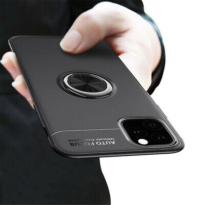 AU6.55 • Buy Magnetic Case Cover With Ring Holder Buckle For IPhone 12 11 XR XS X 8 Plus 7 6S