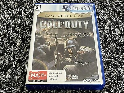 AU14.99 • Buy 🔫 Original Call Of Duty: Game Of The Year Edition || PC Video Game || Pre-owned