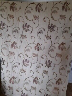 £15.40 • Buy Pair Of Lined Curtains With Pencil Pleat Headings (46 W 54 D Each) Free P&P!!