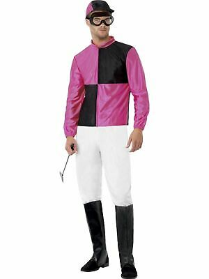 £26.22 • Buy Jockey Mens Adult Horse Fancy Dress Stag Party Costume Outfit