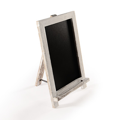 £9.49 • Buy Vintage Chalkboard With Stand Black Memo Board For Menus & Other Displays M&W