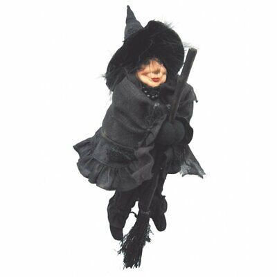 £24.99 • Buy Witches Of Pendle - Rosie Garden Witch Doll Flying Black 30cm Collectible