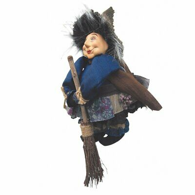 £18.99 • Buy Witches Of Pendle - Lavender Garden Witch Doll Flying Blue 20cm Collectible