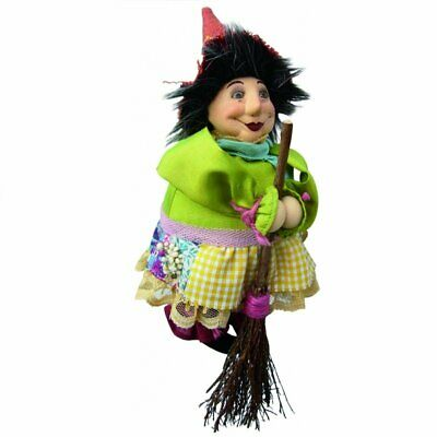 £18.99 • Buy Witches Of Pendle - Lavender Garden Witch Doll Flying Floral 20cm Collectible