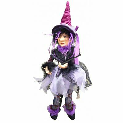 £27.99 • Buy Witches Of Pendle - Sabrina Purple Doll Flying 30cm Collectible Witch