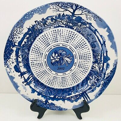 £4 • Buy Ringtons Limited  Seasons Plate By Masons Blue & White 2002