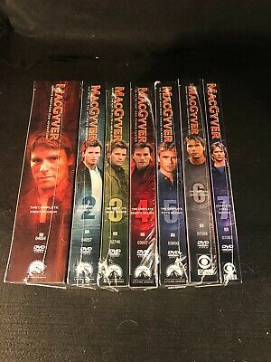 $99.99 • Buy MacGyver The Complete Series Seasons 1 2 3 4 5 6 7 (38 DVD's) NEW SEALED