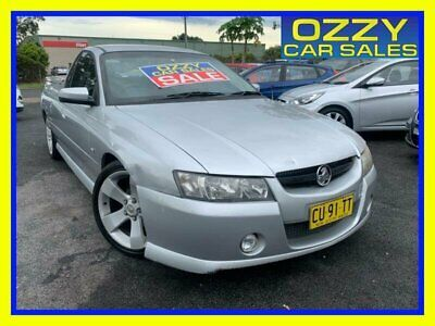 AU7750 • Buy 2006 Holden Commodore VZ MY06 S Thunder Silver Automatic 4sp A Utility