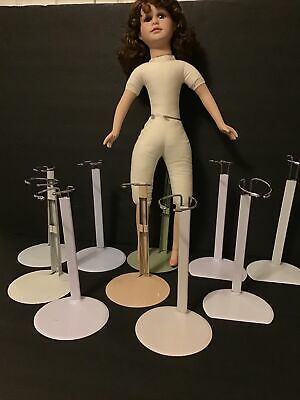 """£18.03 • Buy DOLL STANDS LOT Of 10 Extend 10""""-12"""":For 14""""-20""""DOLLS-ADJUSTABLE-CLEAN (DS2)"""