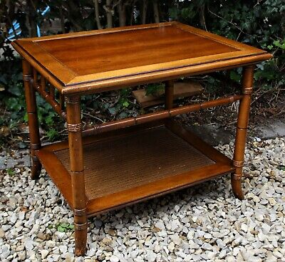 £36.99 • Buy Faux Bamboo Colonial Style Coffee Table