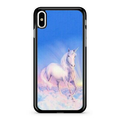 $13.85 • Buy Majestic Celestial Snow White Cuddly Horse Galloping On Clouds Phone Case Cover