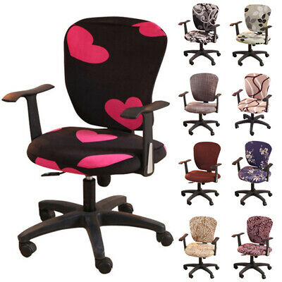 AU11.99 • Buy Computer Swivel Chair Cover Spandex Stretch Office Home Seat Protector Covers